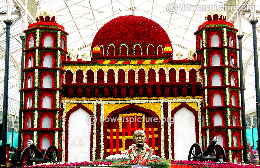 Floral Replica of gol gumbaz