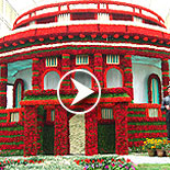 Lalbagh Flower Show August 2016 video