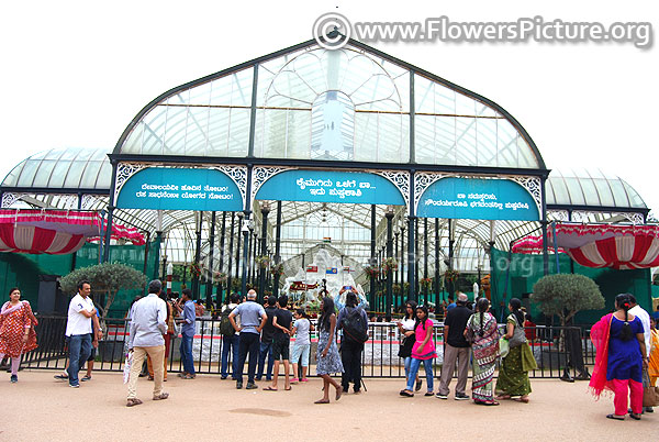 Lalbagh glass house august 2018 independence day festival