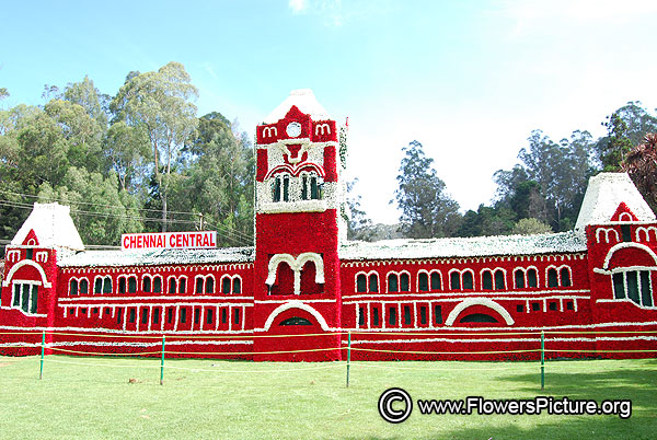 Replica of chennai central railway station